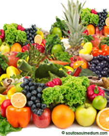 Image of fruits and vegtables